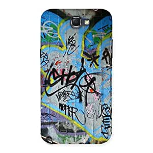 Gorgeous Random Art Multicolor Back Case Cover for Galaxy Note 2