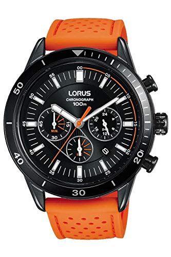 Lorus Sport Man Montre Homme Analogique Quartz avec Bracelet Cuir RT327HX9