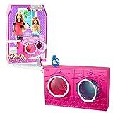 Barbie - Möbel Einrichtung Waschküche - Waschmaschine Trockner mit Zubehör