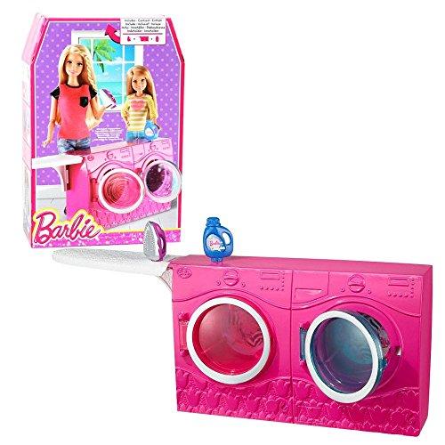 Newsbenessere.com 51ql4mA-mZL Barbie - Mobili Arredamenti - Lavatrice & Asciugatrice con Accessori