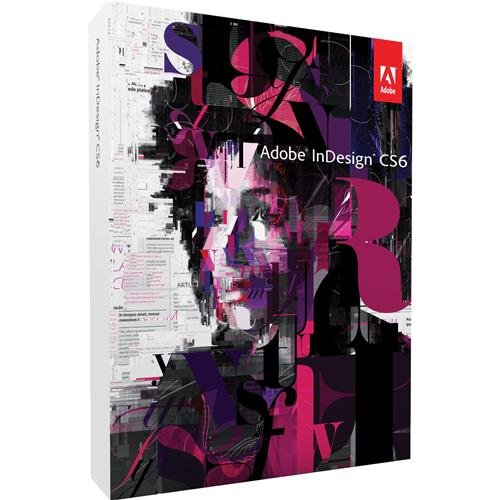 ADOBE InDesign CS6 V8 Mac DVD Set (DE) For Educati