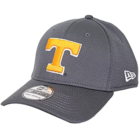 Tennessee Volunteers New Era NCAA 39THIRTY Performance Flex Fit Hat - (Ricamato Flex Hat Fit)