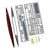 Perfeclan 1: 200 Maßstab Kriegsschiff Deutsch U-511 Schlachtschiff Kunststoff Montage Modell Kits Spielzeug