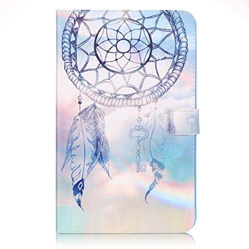 Tab A T580 Hülle - Slim-Fit Flip Case Cover PU Leder Tasche Hülle mit Standfunktion Schutzhülle für Samsung Galaxy Tab A 10.1 Zoll (2016) SM-T580N / SM-T585N Tablet Case Leder Etui Schalen (#6)