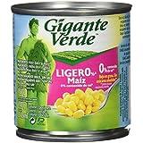 Gigante verde bipack lata de maíz dulce ligero% (0% sal) 2x160g - [Pack de 4]