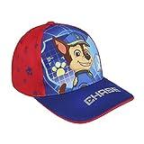 Cerdá Premium Die Patrulla Canina Chase Tennis-Cap, Kinder, Blau, 52–58cm