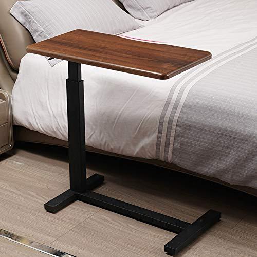 XNADESK Movalbe Laptop-Schreibtisch, Krankenhaus Overbed Schreibtisch Mit Hidden Schwenkrad Höhenverstellbar Lesen Essen Frühstück Warenkorb-Stand-a 40x80cm(16x31inch) -
