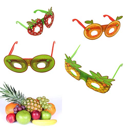 SimpleLife Fruit Sonnenbrille Brille, Neuheit Fancy Dress Up Kostümzubehör Kinderspielzeug