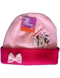Bonnet Rose Minnie Mouse Disney avec l'image PVC - Marchandise certifiée Disney
