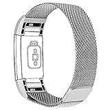 Die besten Fitbit Angebote - Fitbit Charge 2 Armband, Alwaiiz Verstellbare Edelstahl Ersatzb Bewertungen