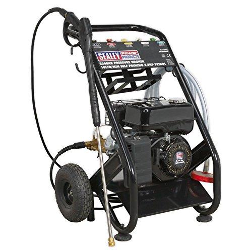 Sealey PWM2500SP Hochdruckreiniger 220 bar 600 l/h selbstsaugend 6,5 PS Benzin