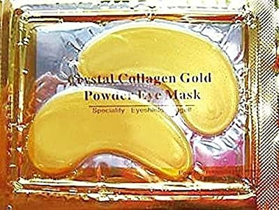30 x Premium Crystal Collagen Gold Powder Eye Masks Face Pad Anti Ageing Wrinkle HQ Masks