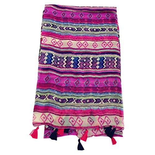 Lunji foulard femme bohême multifonctions...
