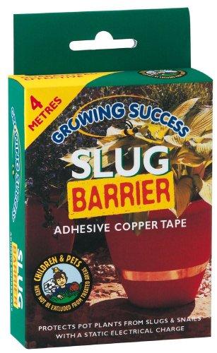Growing Success barrière anti-limaces en cuivre 4 m de ruban adhésif