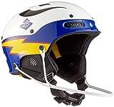 Sweet Protection Trooper SL TE Helmet, Gloss White/Blue Boost, L/XL