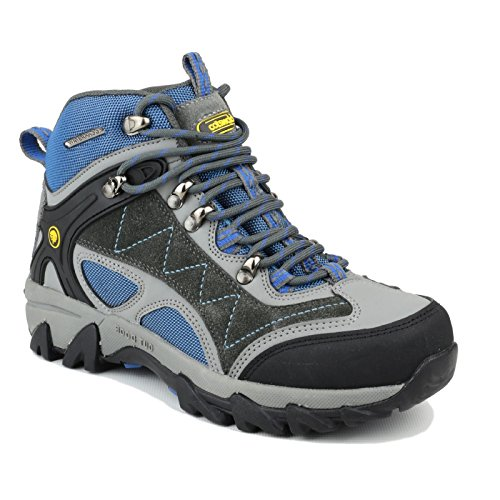 Cotswold Malvern Mid Hiker Mens Boot Grey / Blue