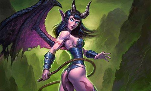 World Of Warcraft II WoW Customized 23x14 inch Silk Print Poster Seide Plakat/WallPaper Great Gift (Wallpaper 14)