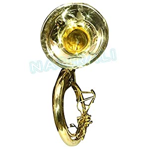 Tuba Sale Brass Finish 25 Inch Best Item Sell On Ebay Bb Tuned Pro Susaphone