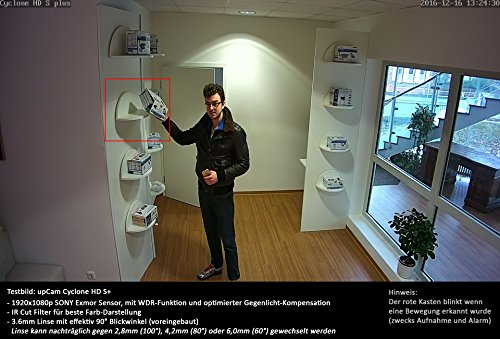upCam Cyclone HD S+ IP Kamera - 7