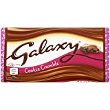 Galaxy Cookie Crumble Chocolate Bar, 114g