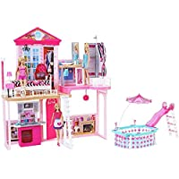 Barbie My Style The Complete Home Set includes 3 Dolls & 3 Furniture Sets