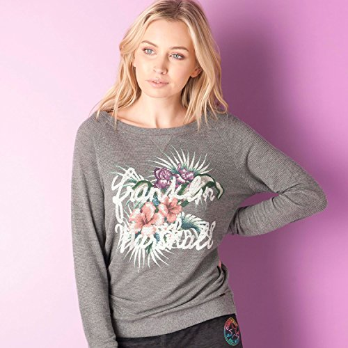 Womens-Franklin-And-Marshall-Sweatshirt-In-City-Grey