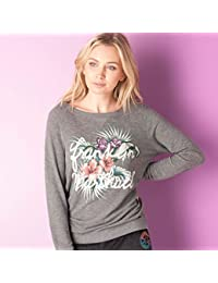 Womens Franklin and Marshall Sweatshirt in City Grey