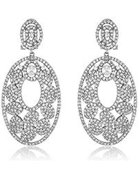 SHAZE Oval Spring |Earrings for women stylish|Earrings for girls