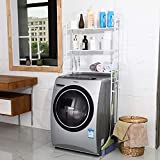 3 Layer Metal Washing Machine Storage Shelf Rack,Space Saver Shelf Organizer Holder