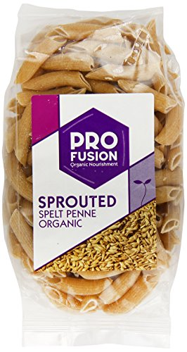Profusion Organic Sprouted Spelt Penne Pasta 250 g (Pack of 6)