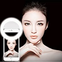 Age Care Selfie Ring Light with 36 LED Lights for Night Darkness selfie's.