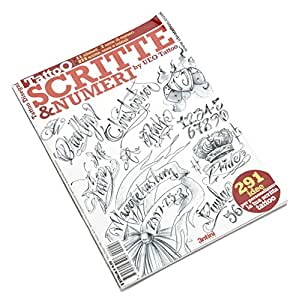 Livre de Tatouage - Scripts and Numbers Book par Ueo Tattoo