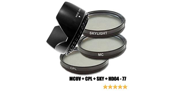 Dynasun C Pl Cpl 77mm Pol Filter Mcuv Filter Kamera