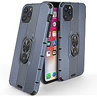 FAWUMAN Funda para iPhone 11 Pro MAX(6.5 Inch) Soft TPU + Duro PC Doble Parachoques Cubierta a Anillo Soporte con Soporte y Carcasa Desmontable, Funda Protectora Serie Armadura