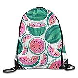Tropical Lightweight Drawstring Bag Sport Gym Backpack Gym Bag for Men and Women