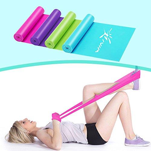Risefit fasce elastiche thera band elastici fitness elastico fitness banda elastica bands, riabilitazione fisico e motore elastico bodybuilding per uomini e donne, attrezzi palestra casa