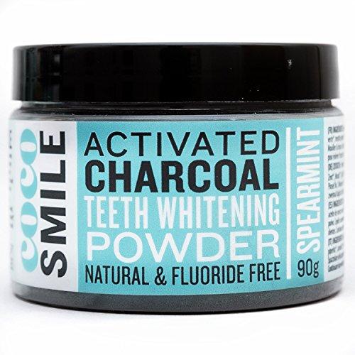 CocoSmile blanchiment dentaire, charbon dent blanche | charbon actif | blanchiment des dents (90g)