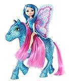 Barbie T7470 kleine Fee mit Pony BLAU aus die geheime Welt der Glitzerfeen