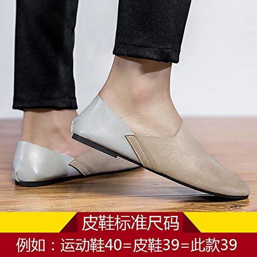 Doug Chaussures, Mode De Chaussures, Une Pédale, Paresseux, Des Chaussures, Des Chaussures D'Hommes Mis Les Pieds Khaki