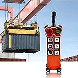 MXBAOHENG Industrielle Funkfernbedienung Hebekran Fernsteuerung F21-E1 AC/DC Drahtlose Steuerung für Kran 1 Sender und 1 Empfänger (220 V)