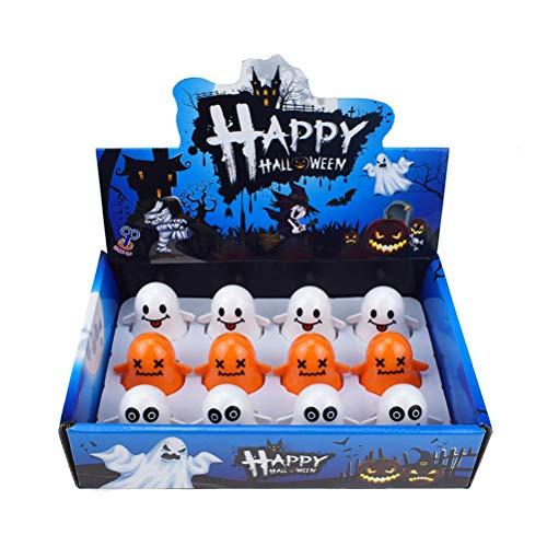TOYANDONA Halloween Wind Up Spielzeug Goody Bag Füllstoff Spielzeug Weihnachtsfeier Lieferungen für Kinder Erwachsene 12 Stücke