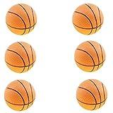 Best Juguetes y niño Bouncy Balls - B Blesiya 6 Piezas Mini Baloncesto Hinchable de Review