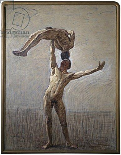 Athletes, 1912 (Oil On Canvas) (3247728), Alu-dibond, 40 x 50 cm