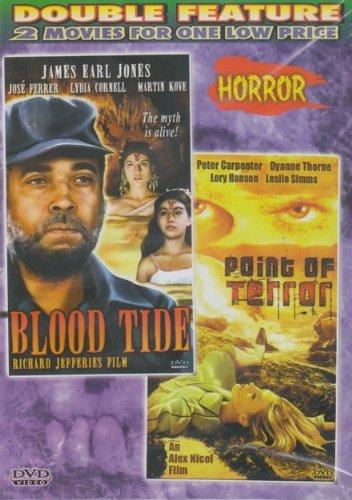 Bild von Blood Tide / Point Of Terror [Slim Case] by James Earl Jones