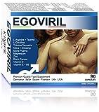 EGOVIR PILLOLE POTENZA IMMEDIATA + DURATURA | 100% Naturale - Massima Durata - No Controindicazioni | 90 Capsule