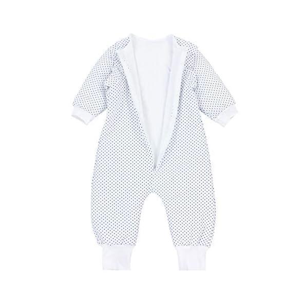 TupTam Saco de Dormir con Mangas y Piernas Bebés – Invierno