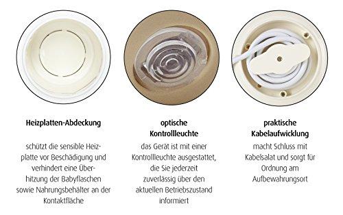 REER Chauffe-biberons Simply Hot, blanc
