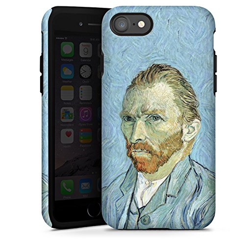 Apple iPhone X Silikon Hülle Case Schutzhülle Vincent van Gogh Selbstportrait Kunst Tough Case glänzend