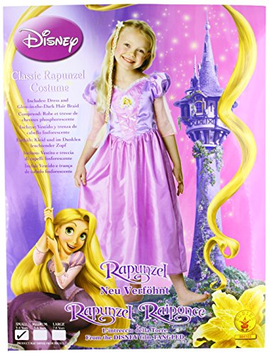 (Rubies 3 884103 S - Kostüm Rapunzel Größe S)