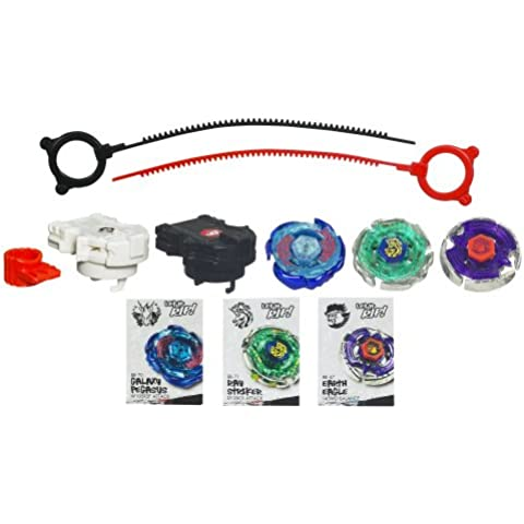 Beyblade Metal Masters Team Gangan Galaxy (Galaxy Pegasus, Ray Striker, Earth Eagle)